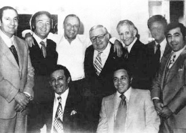 Famous Mafia Pictures, Iconic Mafia Pictures, Paul Castellano, Carlo Gambino, Mafia, Mobsters, Cosa Nostra,
