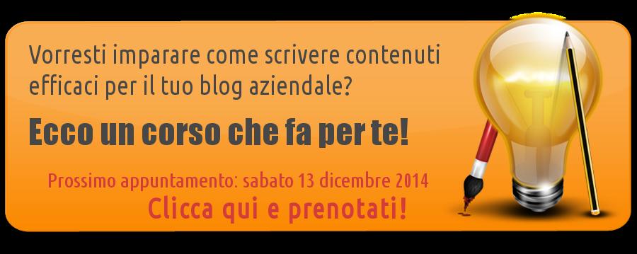 Corso di content marketing a Pescara Abruzzo