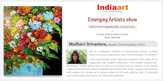 Artist Statement by Madhavi Srivastava who is part of Emerging Artists show by Indiaart.com