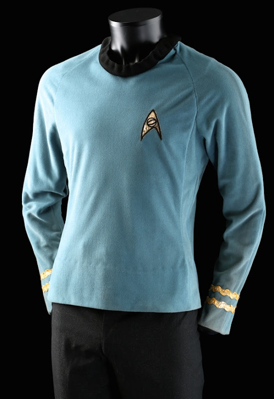 Leonard Nimoy Spock Starfleet uniform Star Trek