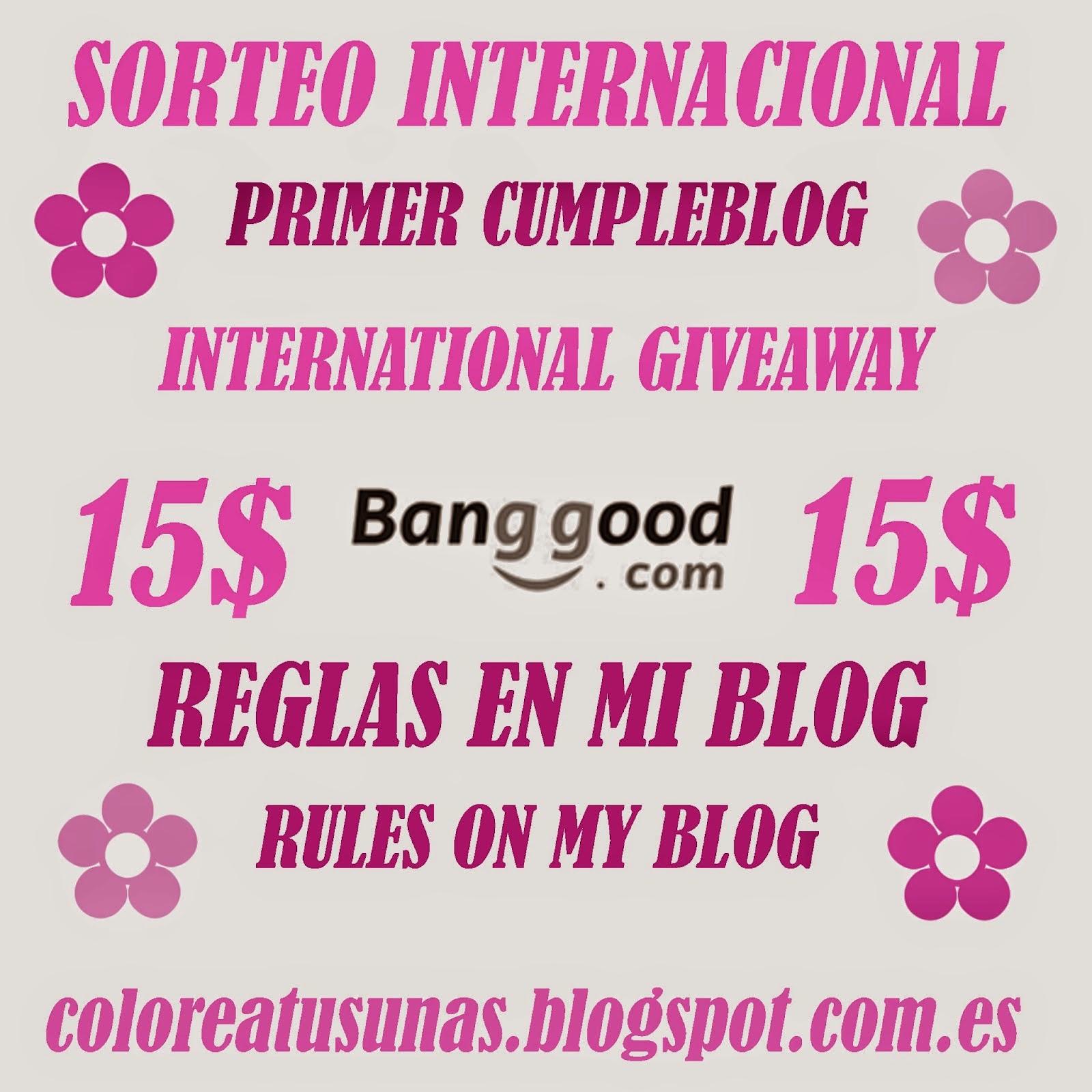 Sorteo internacional: cumpleblog :)