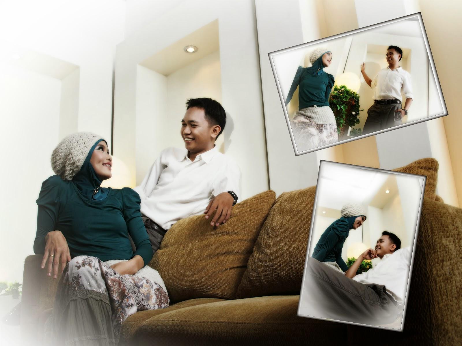 Contoh Foto Pre-Wedding Indoor