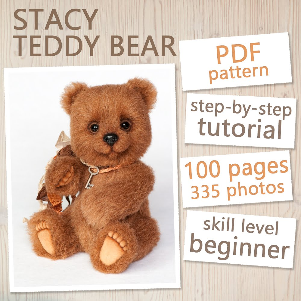 Teddy Bear Pattern & Tutorial