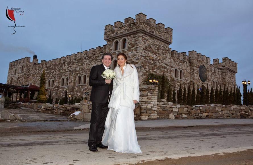Младоженци пред Калоянова крепост