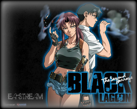 Black Lagoon (anime japonais) B.LAGOON