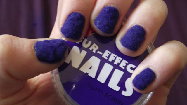 MUA Fur Effect Nails Review And Tutorial - Flurry Bobbin