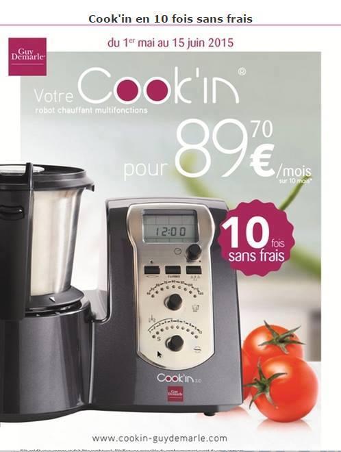 Des empreintes dans ma cuisine l 39 offre cook 39 in en - Tv fois sans frais ...