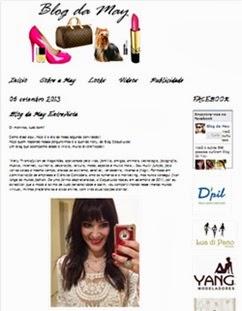 Blog da May