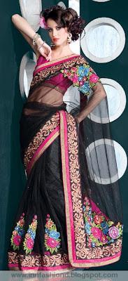 Indian Net Saree
