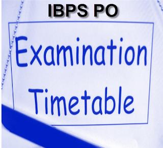 IBPS PO Exam dates 2015 Preliminary