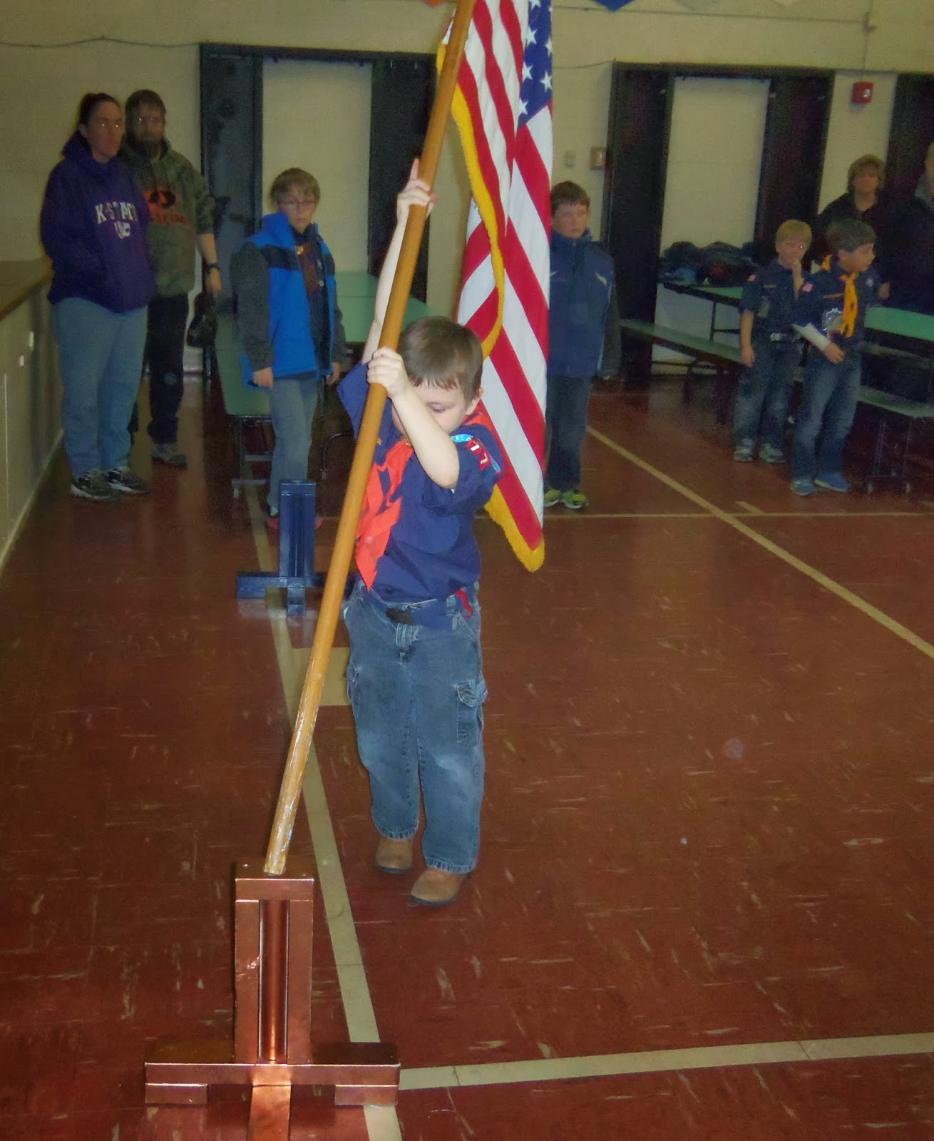 American Flag Ceremony, BoyScout Flag, BoyScout Boycott,
