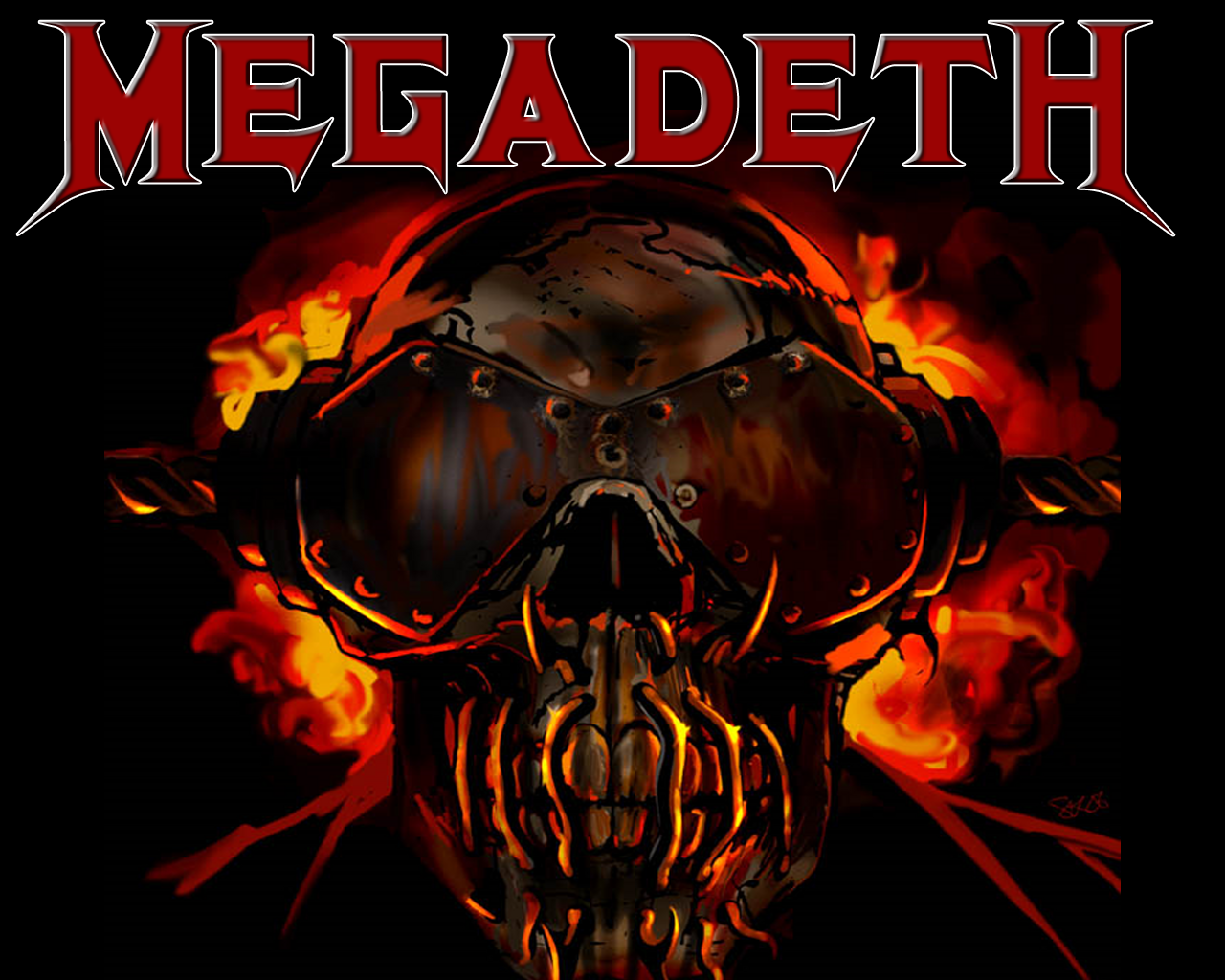 megadeth wide screen wallpapers
