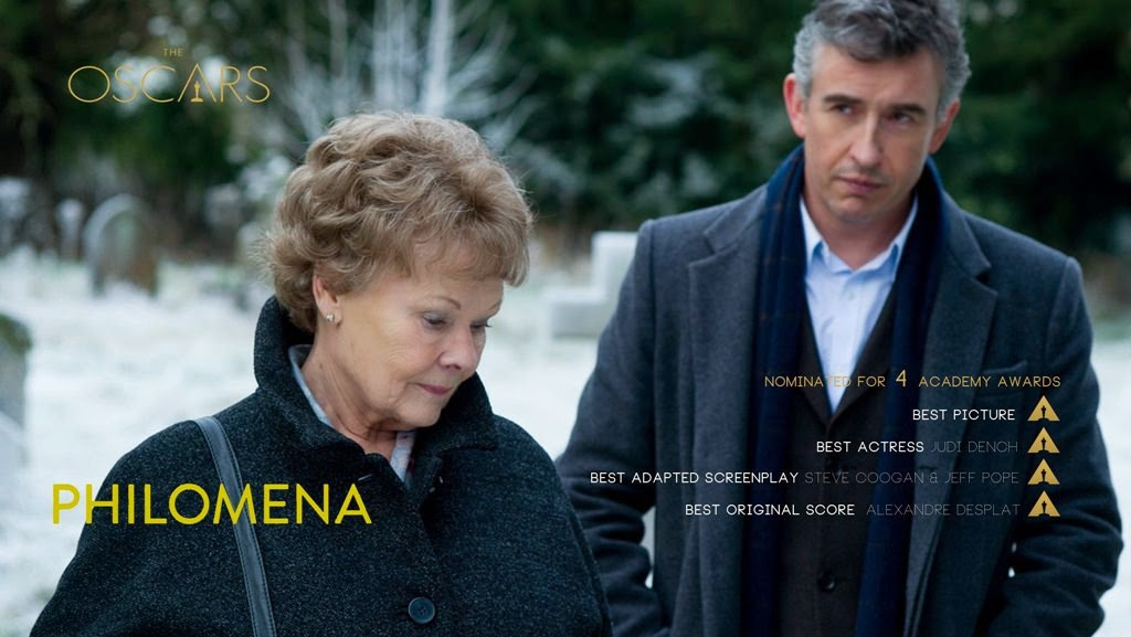 Philomena oscar academy awards nominations
