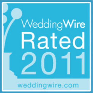 Based on hundreds of thousands of recent wedding reviews WeddingWire Rated