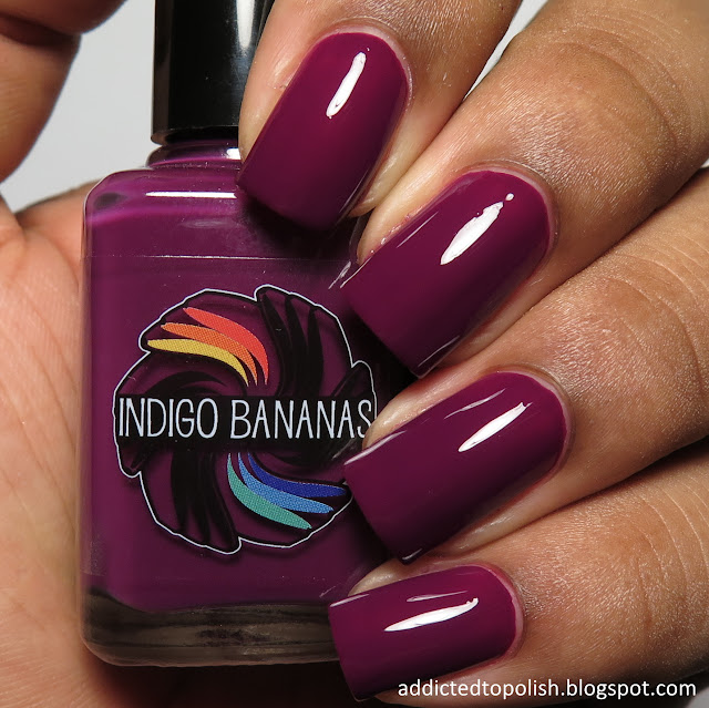 indigo bananas dark side of maroon creme a la mode box