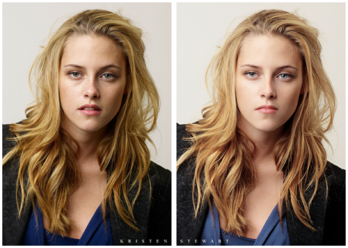 Before And After Photoshopped Celebrities. Before And After Photoshop