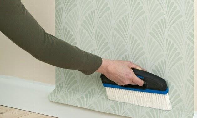 Dise a estudio empapelado paso a paso - Papel para cubrir paredes ...