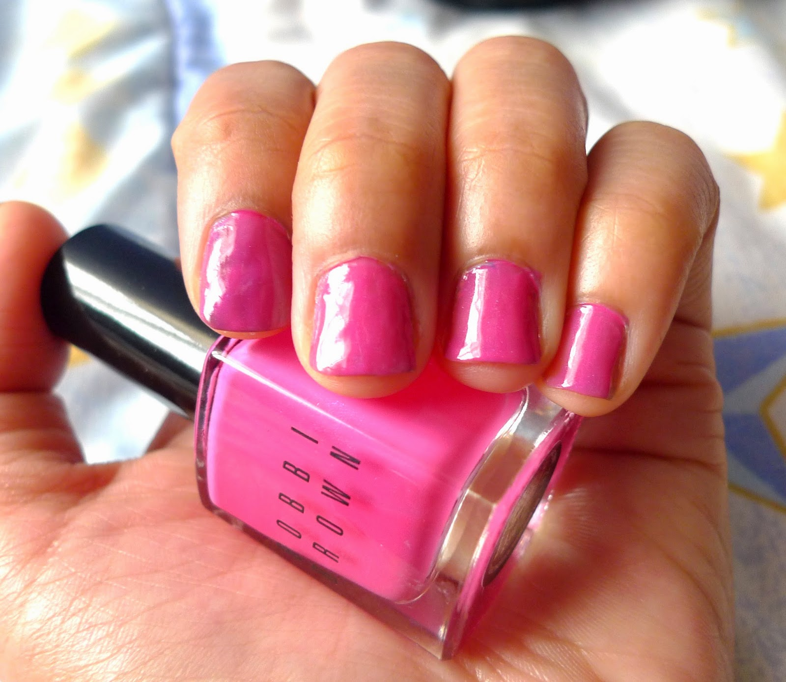 Bobbi Brown Nail Polish in Pink Valentine and Bronze Review | The ...