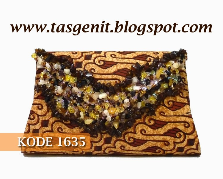 tas pesta batik cantik, dompet pesta, clutch bag indonesia