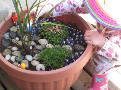 A play (or fairy) garden for children. #kids #activities #garden