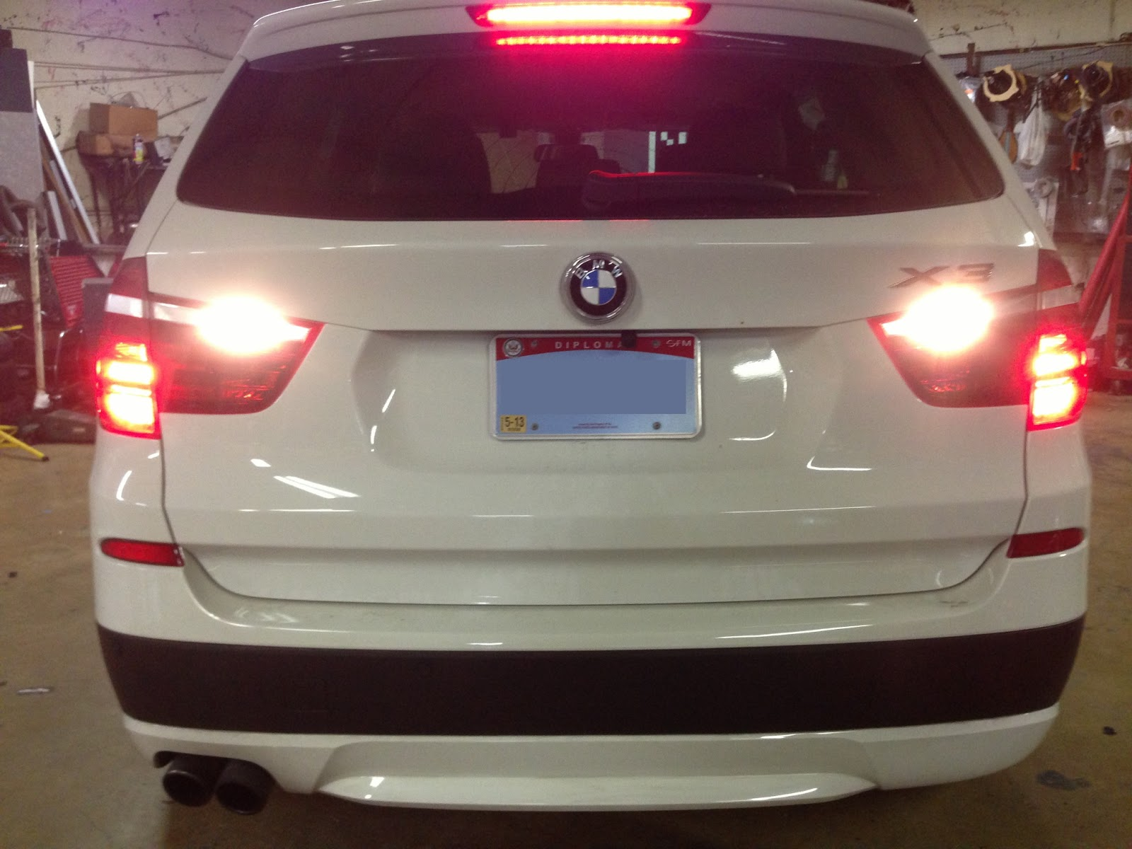We Were Able To Integrate The Back Up Camera Into Cars Factory Navigation Parking Sensors Are Painted Match Paint And Fitted