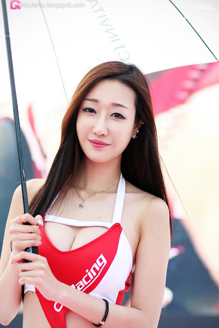 5 Yee Ah Rin - CJ SuperRace 2013  - very cute asian girl - girlcute4u.blogspot.com