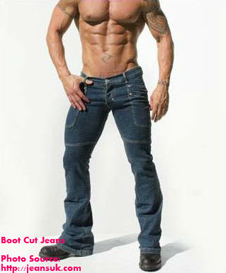 Boot Cut jeans for men