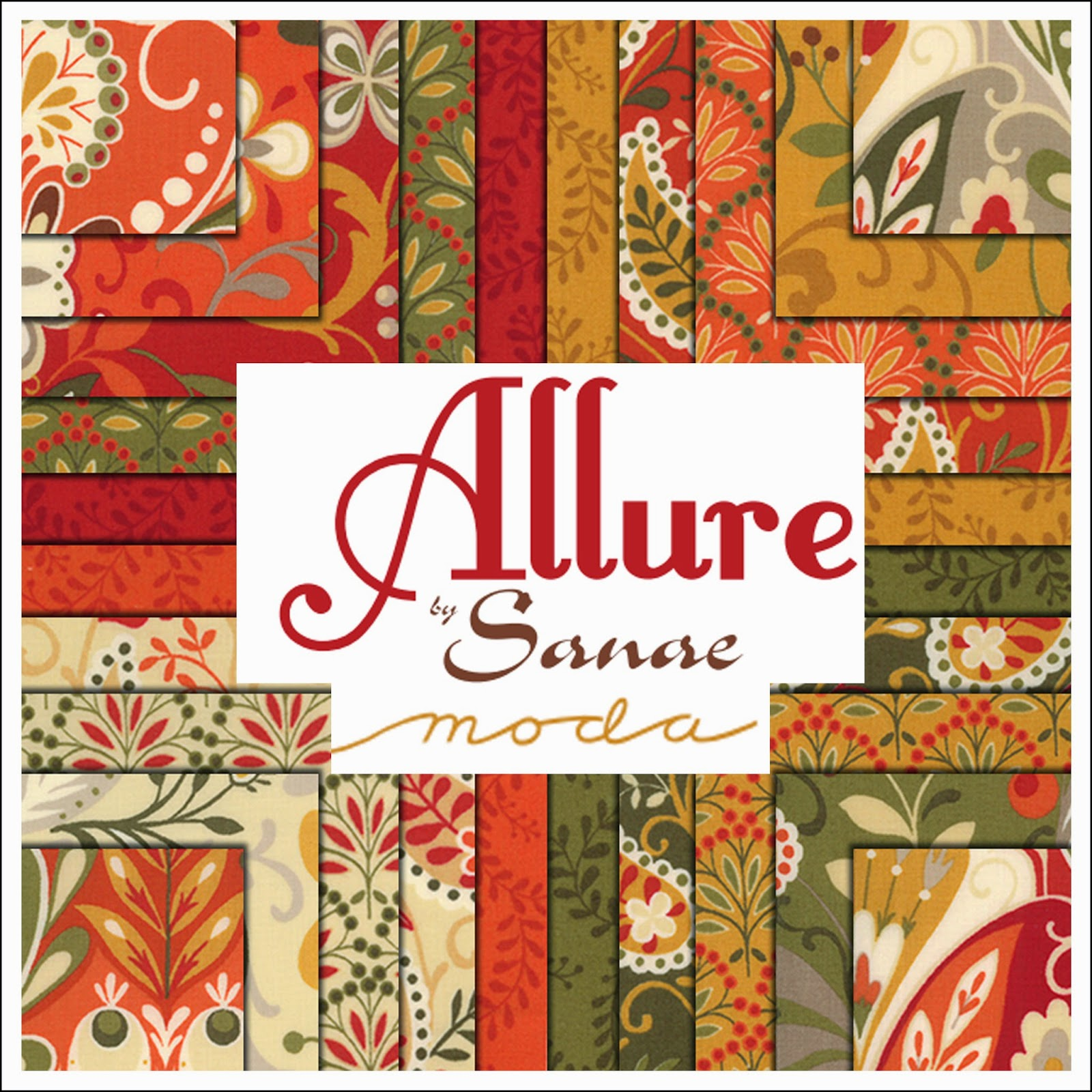Moda ALLURE Quilt Fabric by Sanae for Moda Fabrics