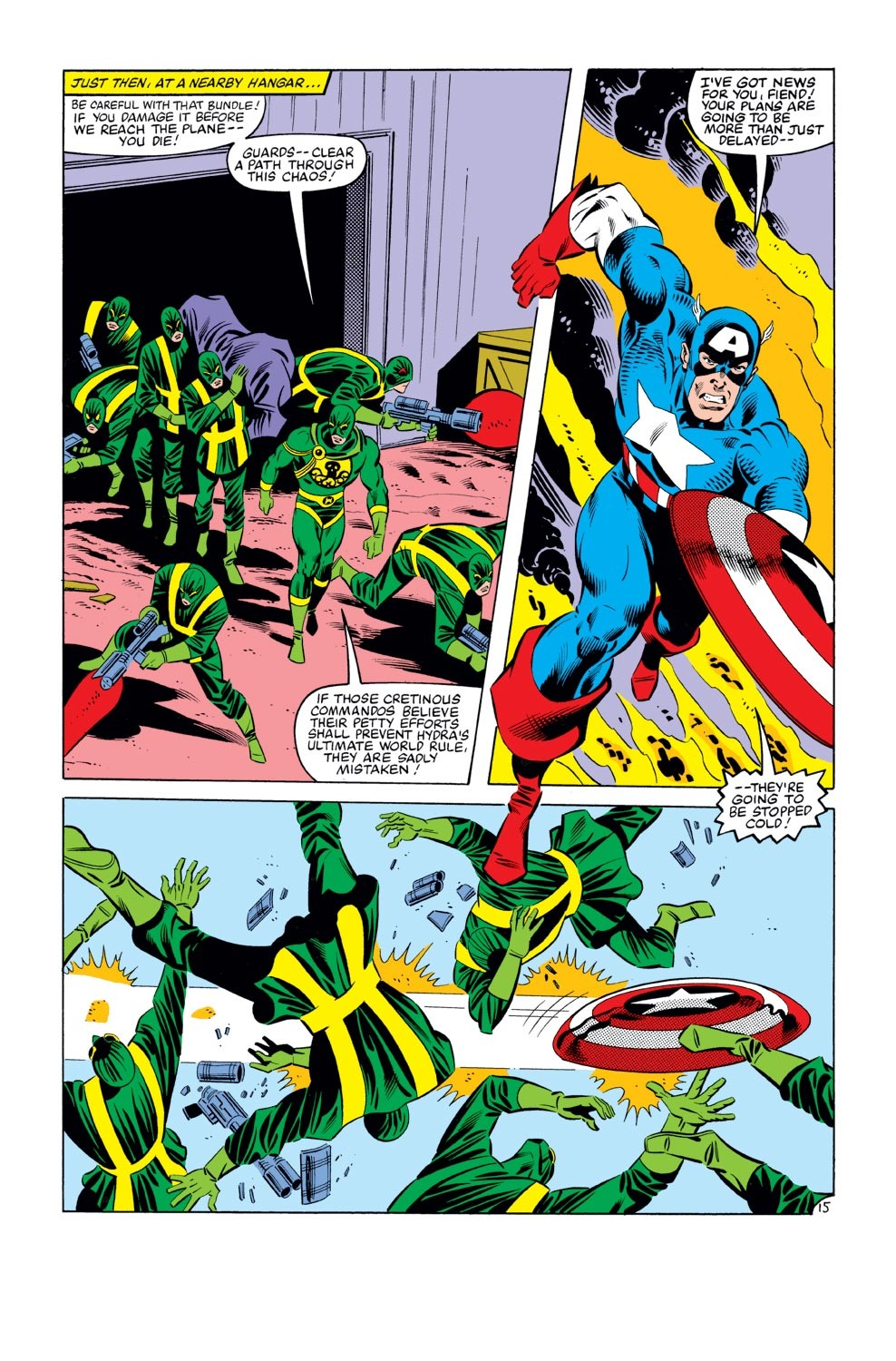 Captain America (1968) Issue #273 #189 - English 16