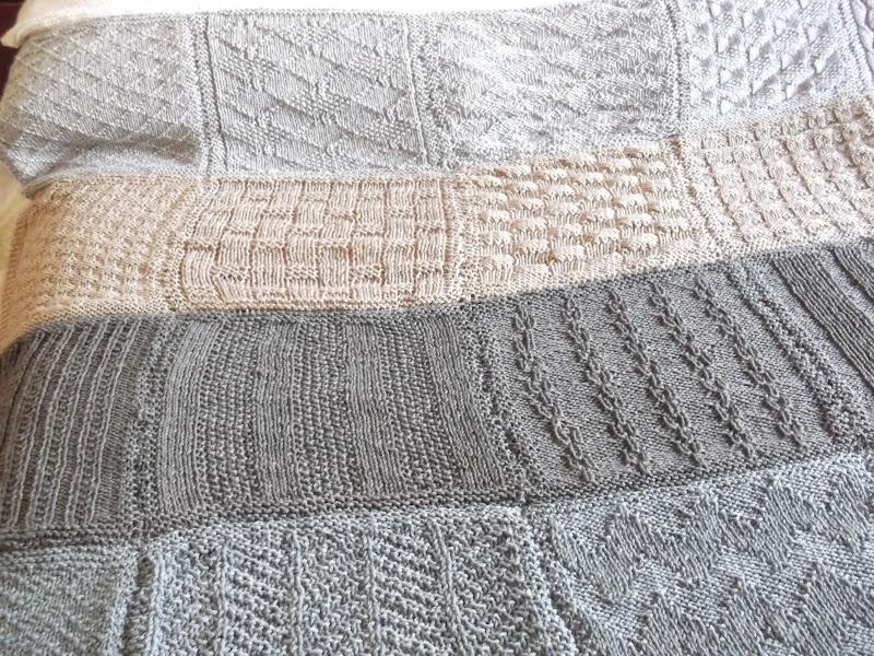 Coperta ai ferri di lana ut09 regardsdefemmes - Coperta uncinetto piastrelle ...