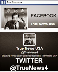 Join TRUE NEWS USA on FaceBook & Twitter