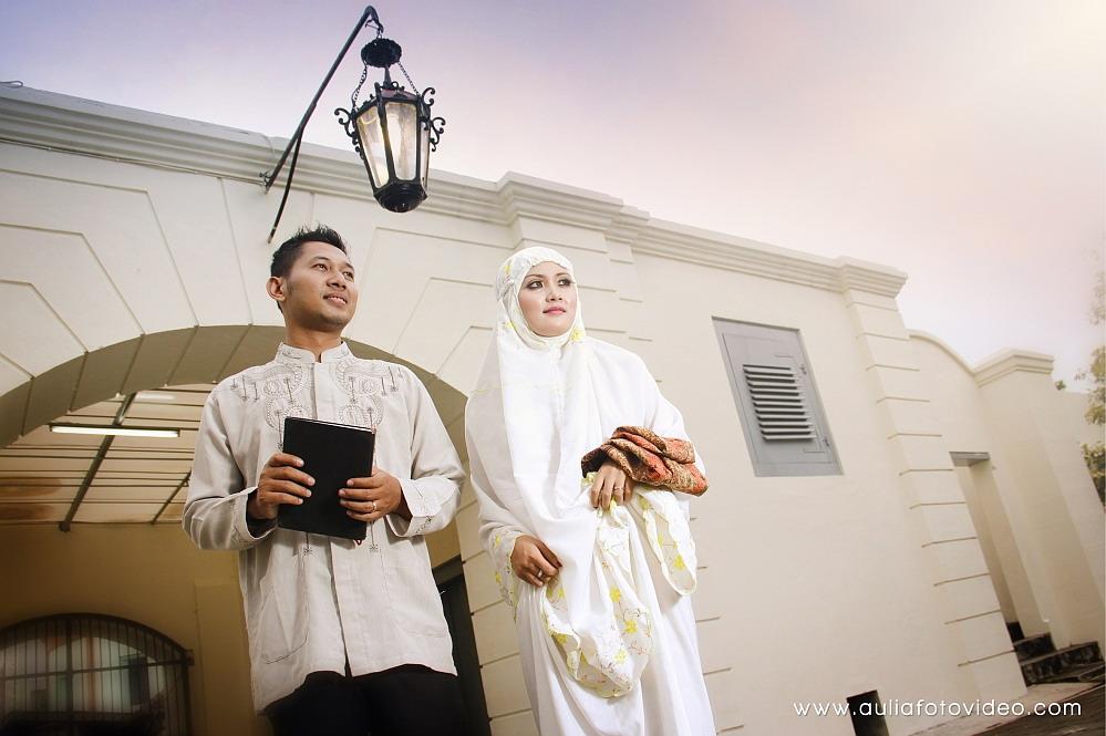 Photo Pre-Wedding Muslimah