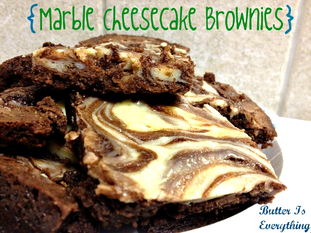 Butter is Everything: Marble Cheesecake Brownies