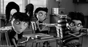 "Classmates ""Frankenweenie"" 2012 aninmatedfilmreviews.blogspot.com"
