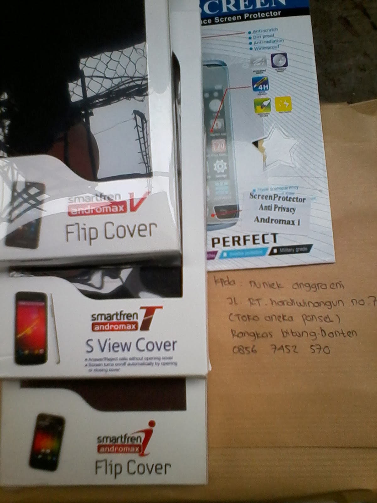 RUMAHHPKU Flip Cover Leather Case Smartfren Andromax C C2