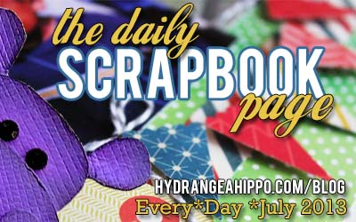 The Daily Scrapbook Page