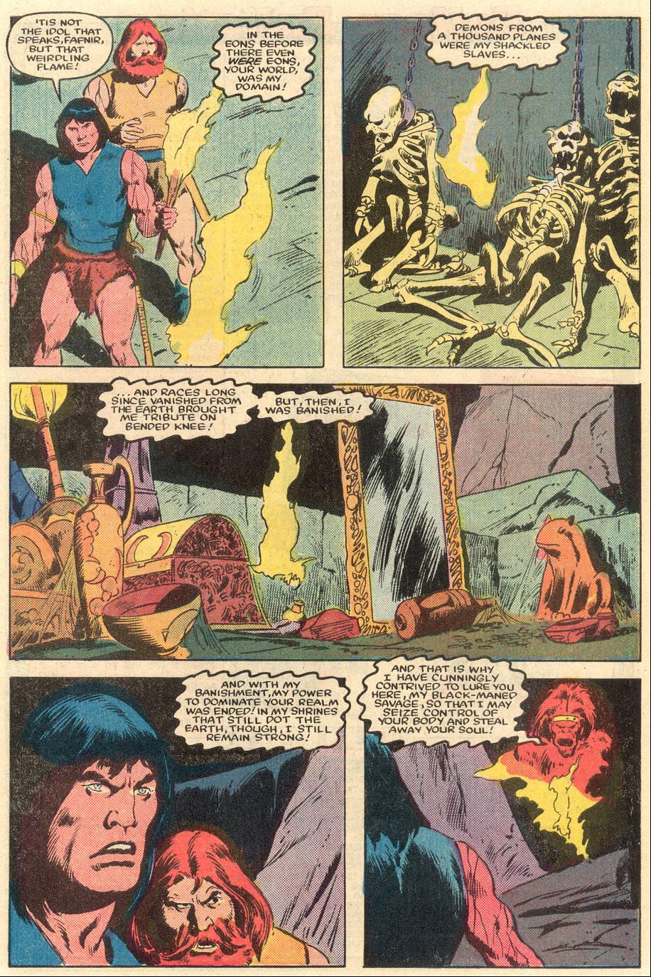 Conan the Barbarian (1970) Issue #162 #174 - English 20