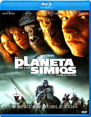 el planeta de los simios 2001 1080p latino El Planeta de Los Simios (2001) 1080p Latino
