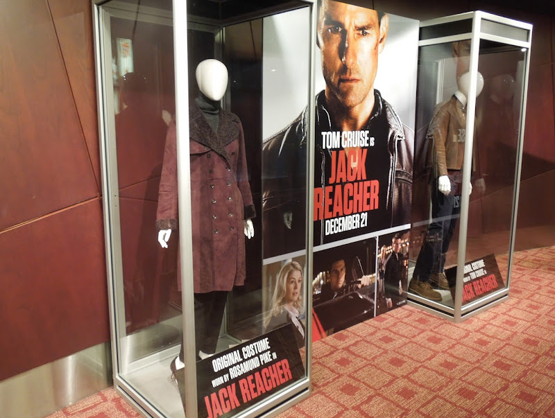 Jack Reacher movie costume exhibit