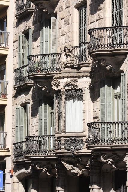 Barcelona L'Eixample Casa Calvet