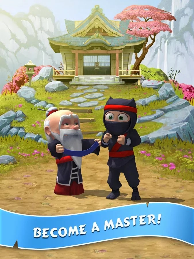 Clumsy Ninja v1.10.0 Mod [Unlimited Coins & Gems]