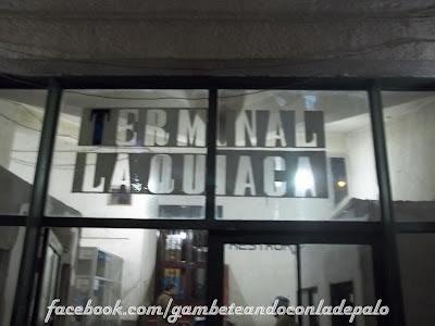 Terminal de La Quiaca - Gambeteandoconladepalo