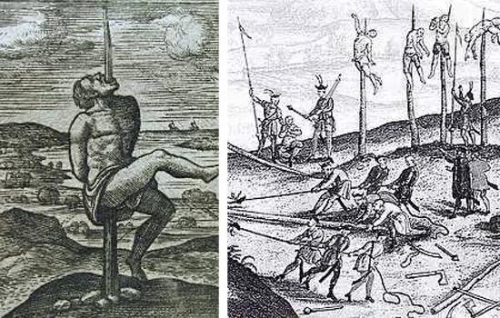 Torturas Medievais - Empalamento