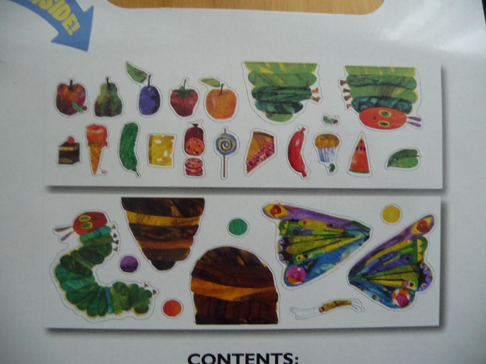 Eric Carleu0027s Very Hungry Caterpillar Room (Wall Stickers) Part 61