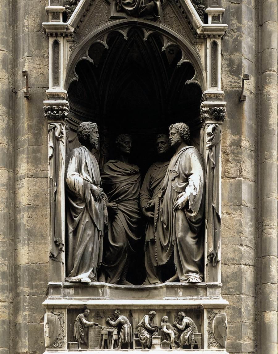 Esta es la historia que ha llegado hasta nosotrosde los cuatro santos
