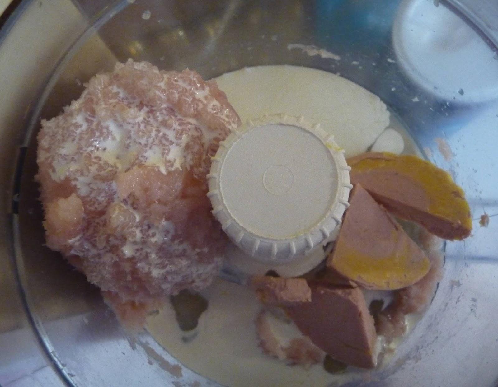 Cuill re aiguille et scie sauteuse ballottines de poulet aux marrons sauce au foie gras id e - Preparation du foie gras ...