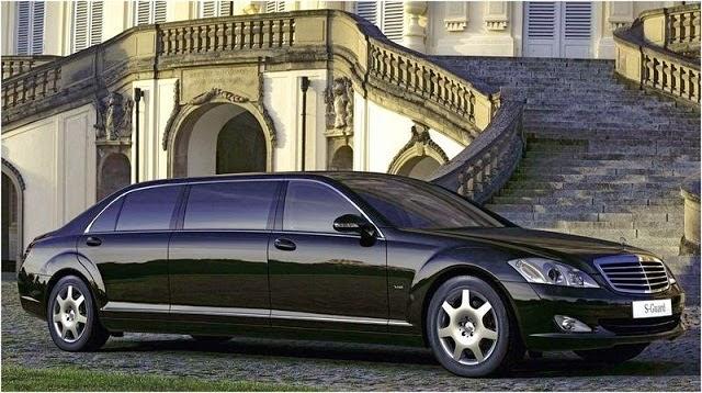 Mercedes-Benz S-Class Pullman, Mobil Termewah di Dunia