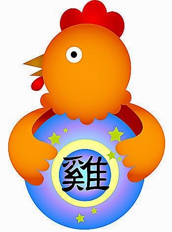 Zodiaco Chino para niños signo del Gallo