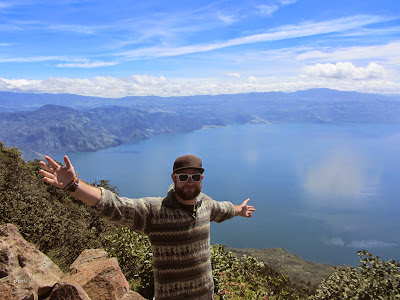 View of Lake Atitlan from San Pedro in Guatemala (Grattan Maslin)