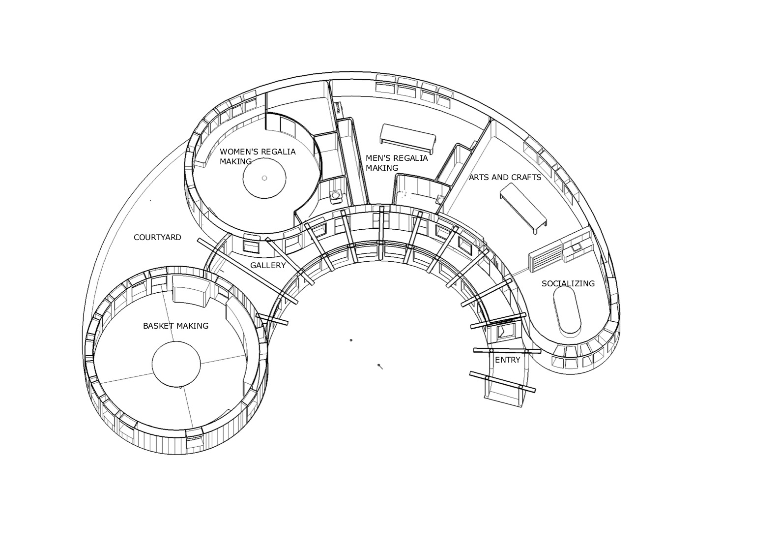 Organic Form Architecture Plan Images